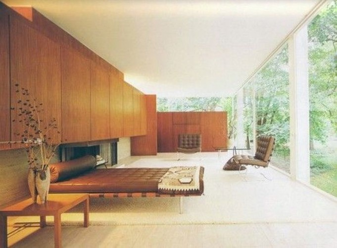 interno Farnsworth House
